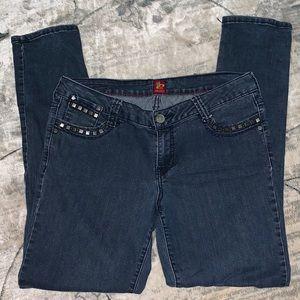 SASSON straight leg jeans 10
